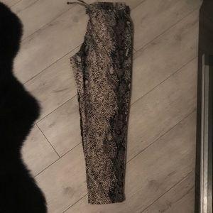 Pants - Drawstring waist trousers